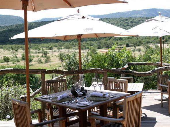 Pumba Msenge Bush Lodge - Dining