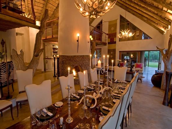 Royal Madikwe - Dining Room