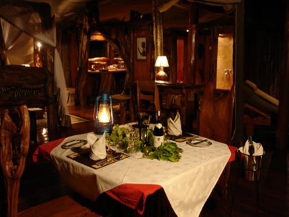 Royal Mara Safari Lodge - Dining