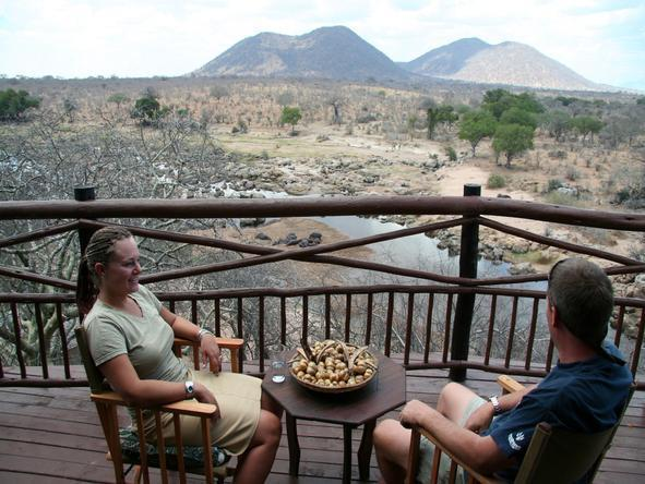 Ruaha River Lodge - Deck