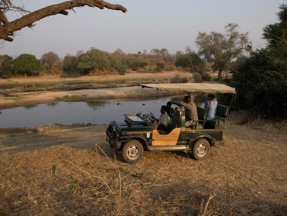 Ruaha River Lodge - Game Drive