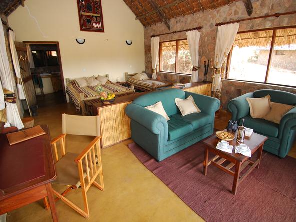 Ruaha River Lodge - Room