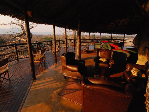 Ruaha River Lodge - Lounge&Deck