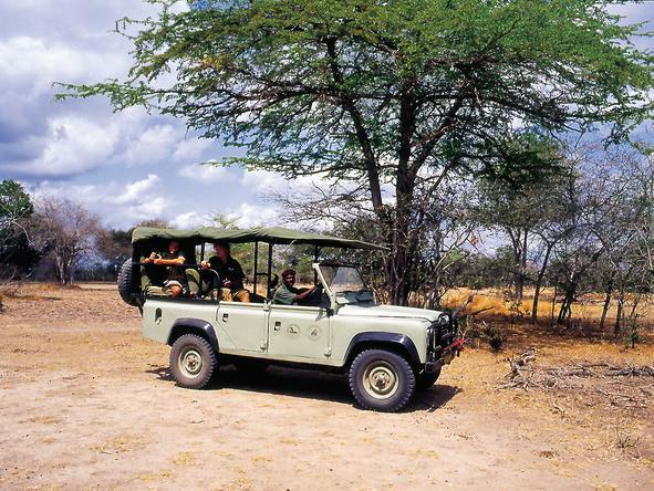 Rufiji River Camp - Game Drive