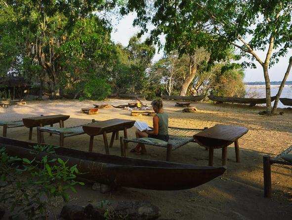 Rufiji River Camp - Sitting area