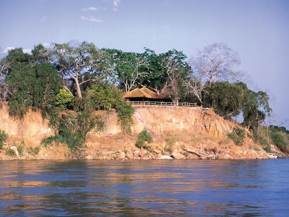 Rufiji River Camp - Location