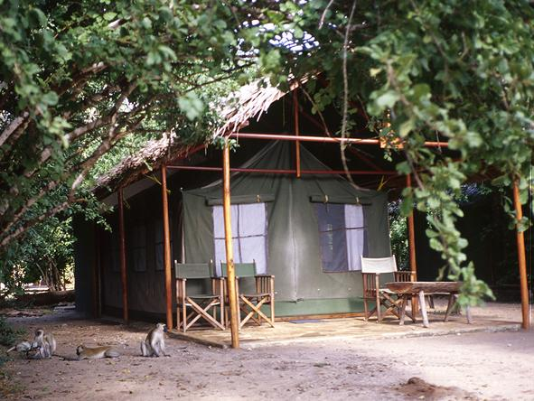 Rufiji River Camp - Verandah