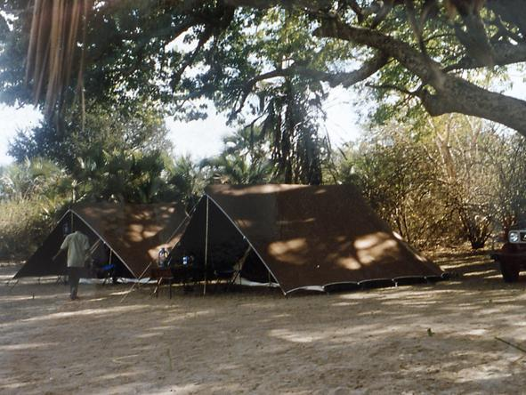 Rufiji River Camp - Camp