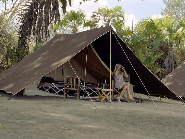 Rufiji River Camp - View from tent