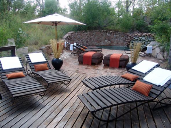 Sabi Sabi - Little Bush Camp - Deck