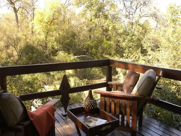 Sabi Sabi - Little Bush Camp - Private Deck