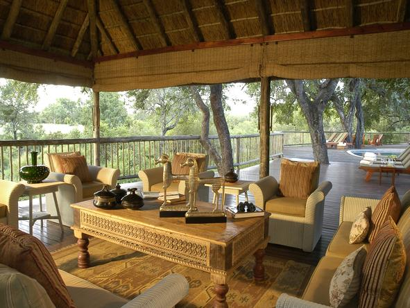 Sabi Sabi Bush Lodge - Lounge2