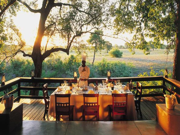 Sabi Sabi Selati Lodge - Deck