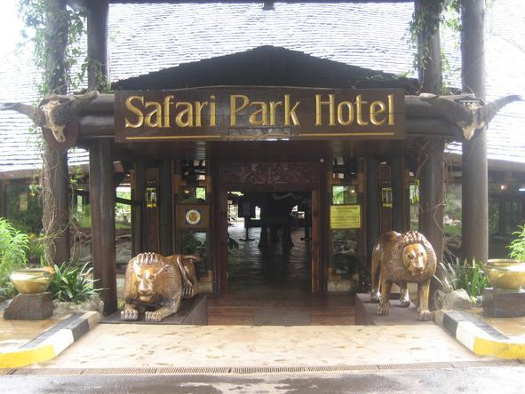 Safari Park Hotel - Entrance