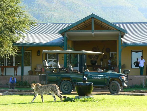 Samara Private Game Reserve - Garden