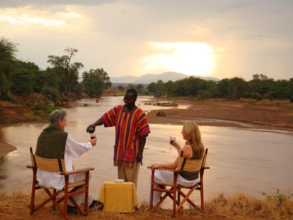 Samburu Game Lodge - Sunset
