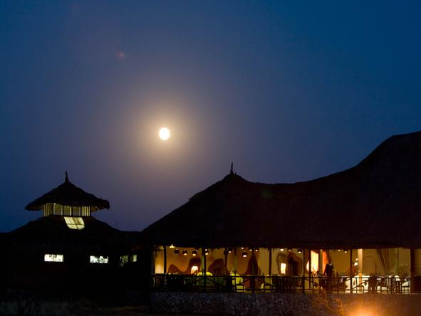 Samburu Sopa Lodge - Night