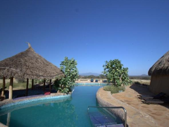 Samburu Sopa Lodge - Pool2
