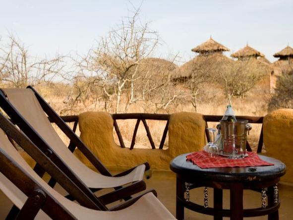 Samburu Sopa Lodge - Private Deck2