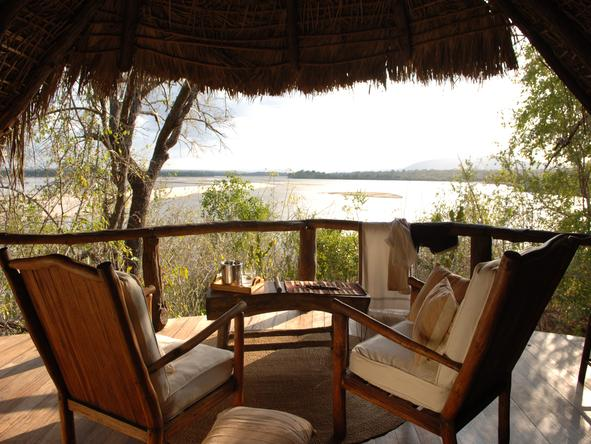Sand River Selous - Private Deck