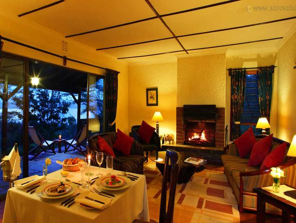 Sarova Lion Hill Game Lodge - Lounge