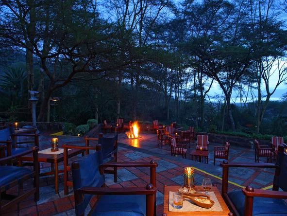 Sarova Lion Hill Game Lodge - Deck
