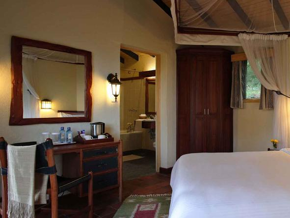 Sarova Lion Hill Game Lodge - Bedroom3