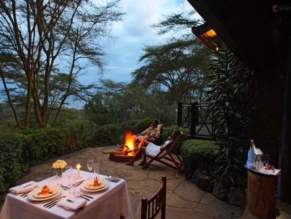 Sarova Lion Hill Game Lodge - Private Deck