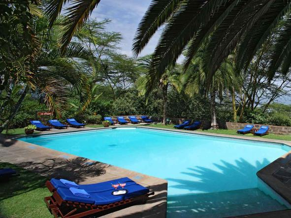 Sarova Lion Hill Game Lodge - Pool