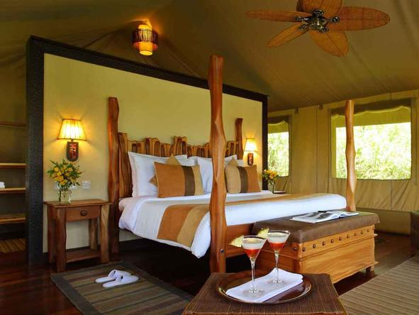 Sarova Mara Game Camp - Bedroom1