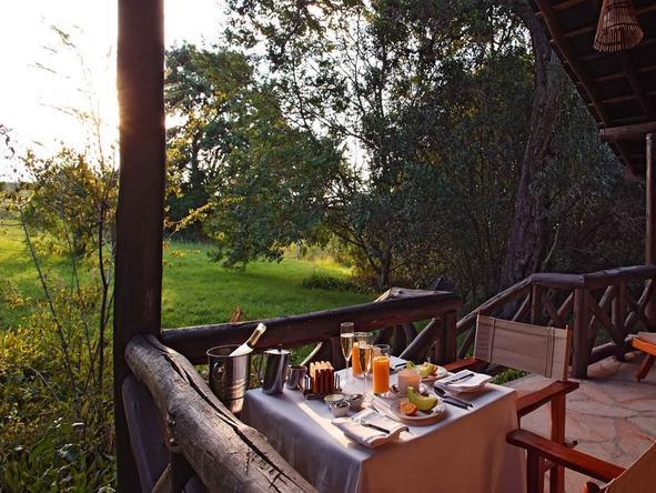 Sarova Mara Game Camp - Deck