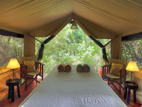 Sarova Mara Game Camp - Spa