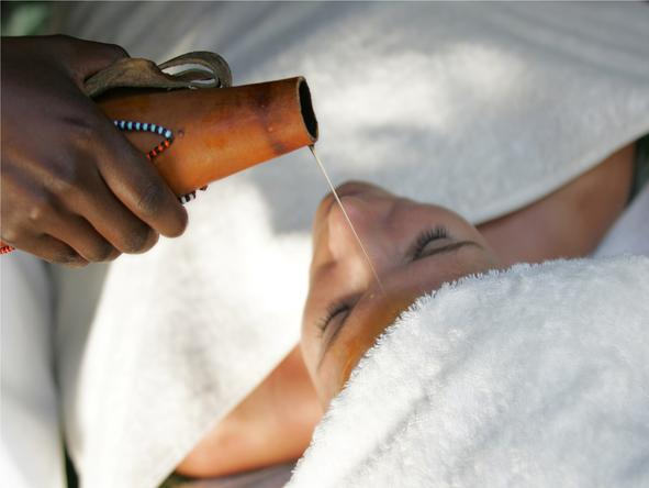 Saruni Mara - pampering spa treatment