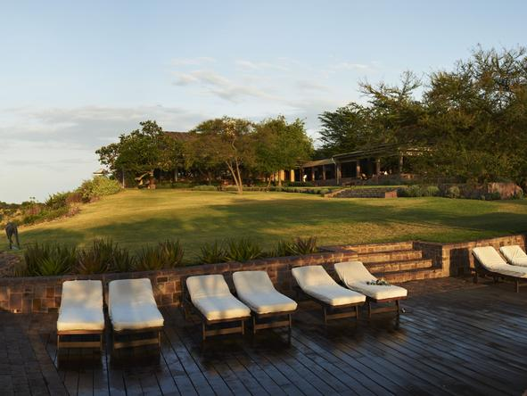 Sasakwa Lodge - Relaxing