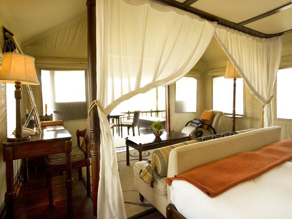 Savute Elephant Camp by Orient Express -Bedroom
