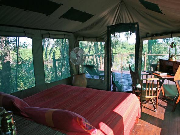 Selous Impala Camp - Bedroom1