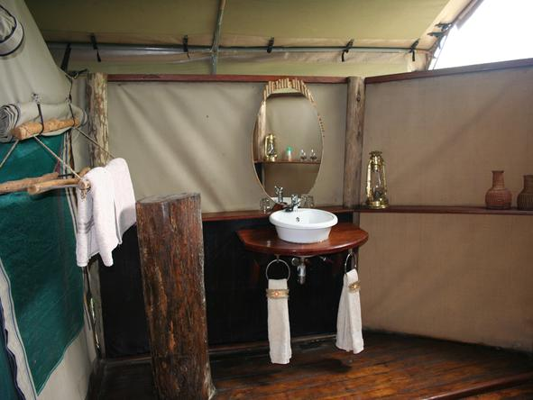 Selous Impala Camp - Bathroom