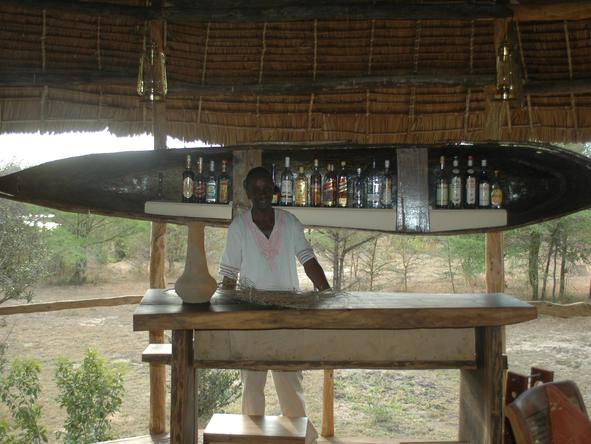 Selous Impala Camp - Bar