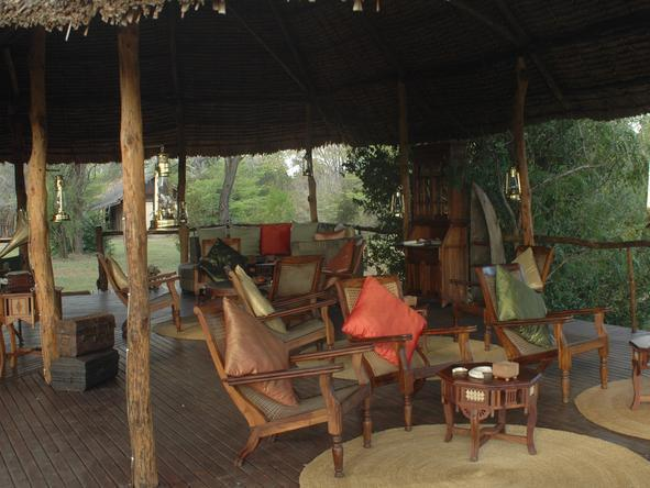 Selous Impala Camp - Lounge