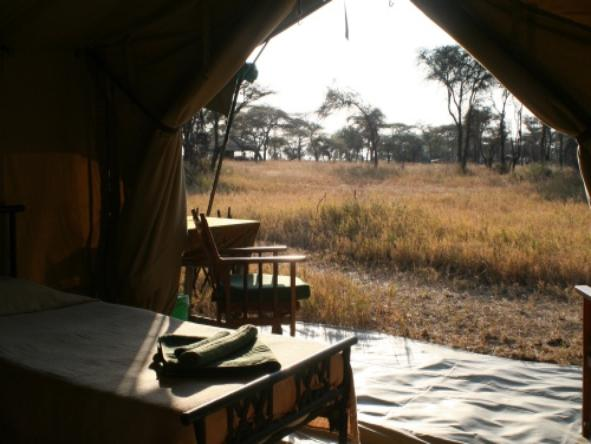 Serengeti Kati Kati Camp -Tent view