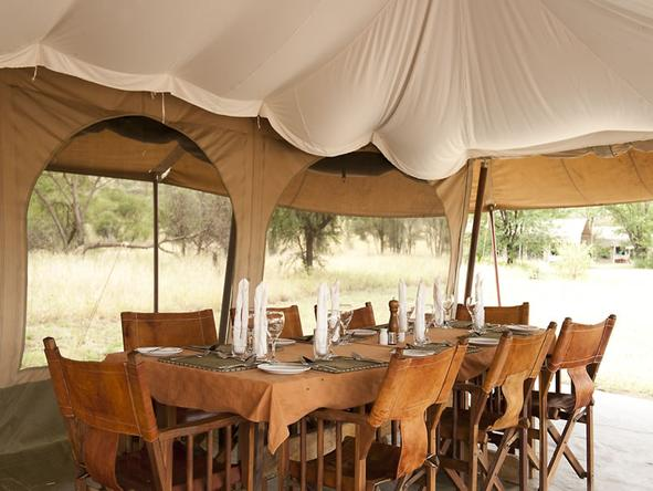 Serengeti Kati Kati Camp - Dining