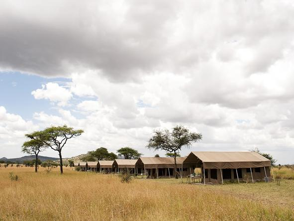Serengeti Kati Kati Camp - Location
