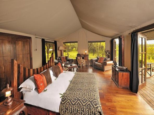 Serengeti Migration Camp - bedroom