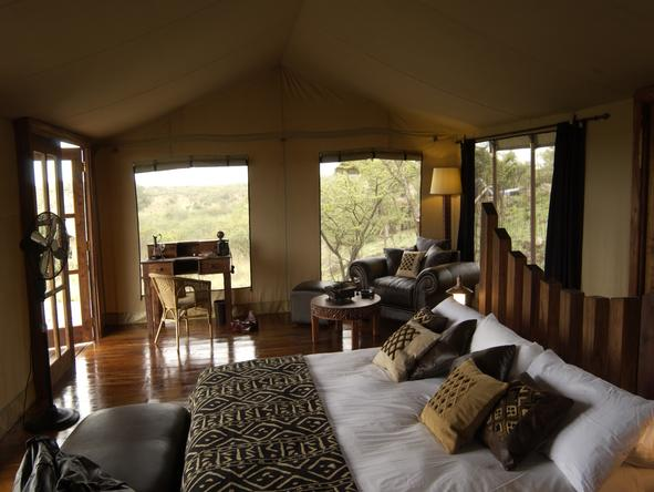 Serengeti Migration Camp - bedroom 2