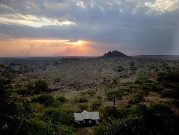 Serengeti Migration Camp - location