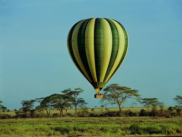 Serengeti Serena Safari Lodge - Hot- Air Balloon