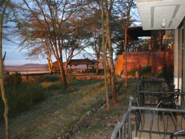Serengeti Sopa Lodge - Location