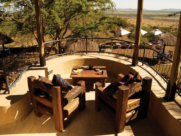 Serengeti Sopa Lodge - Deck