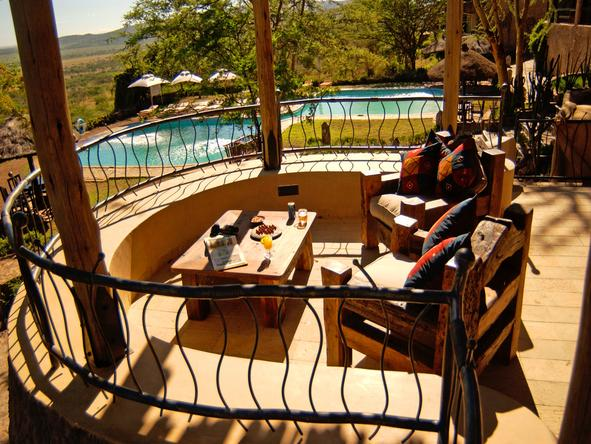 Serengeti Sopa Lodge - Deck2