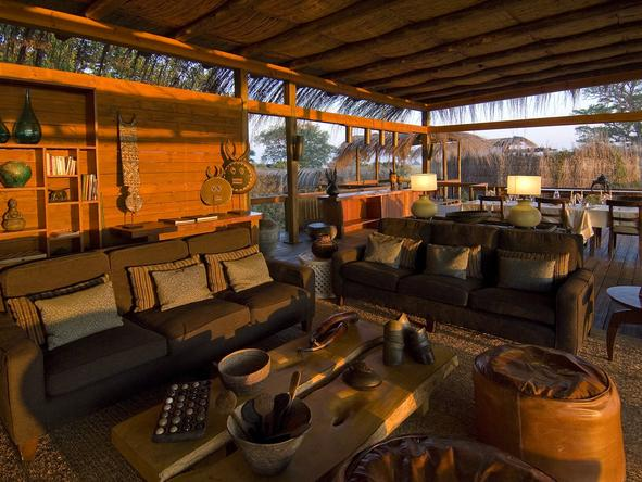 Shumba Bush Camp - Lounge